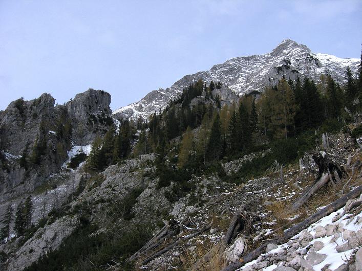 Foto: Andreas Koller / Schneeschuhtour / Über den Südwestgrat auf den Scheiblingstein (2197m) / 25.10.2010 16:36:56