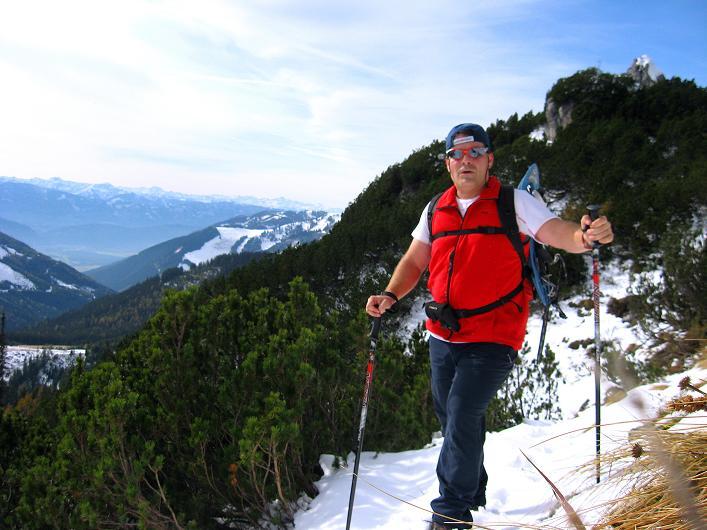 Foto: Andreas Koller / Schneeschuhtour / Über den Südwestgrat auf den Scheiblingstein (2197m) / 25.10.2010 16:36:24