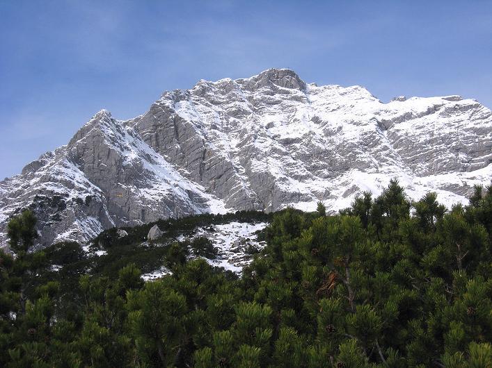 Foto: Andreas Koller / Schneeschuhtour / Über den Südwestgrat auf den Scheiblingstein (2197m) / Großer Pyhrgas (2244m) / 25.10.2010 16:35:49