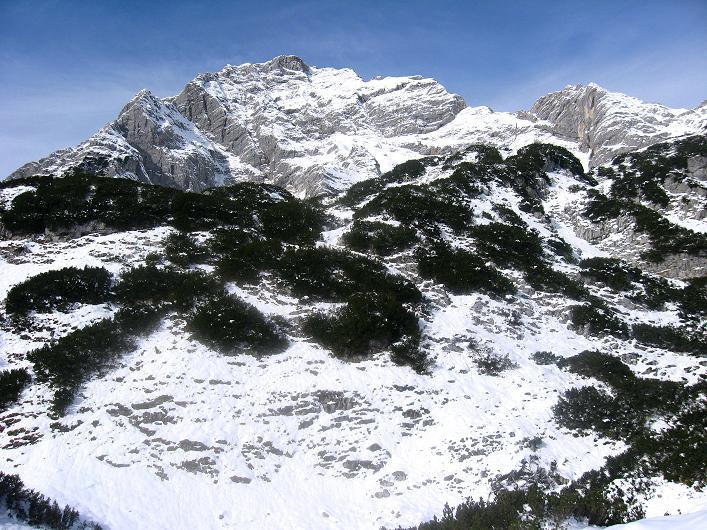 Foto: Andreas Koller / Schneeschuhtour / Über den Südwestgrat auf den Scheiblingstein (2197m) / Großer Pyhrgas (2244m) / 25.10.2010 16:35:16
