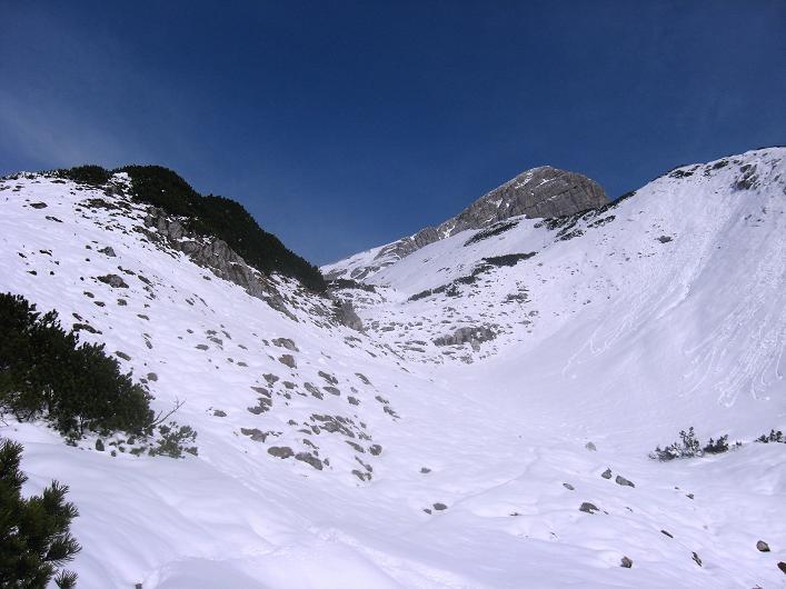 Foto: Andreas Koller / Schneeschuhtour / Über den Südwestgrat auf den Scheiblingstein (2197m) / Lange Gasse / 25.10.2010 16:34:54