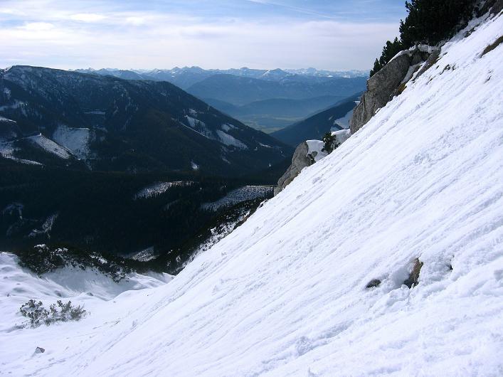 Foto: Andreas Koller / Schneeschuhtour / Über den Südwestgrat auf den Scheiblingstein (2197m) / 25.10.2010 16:34:29