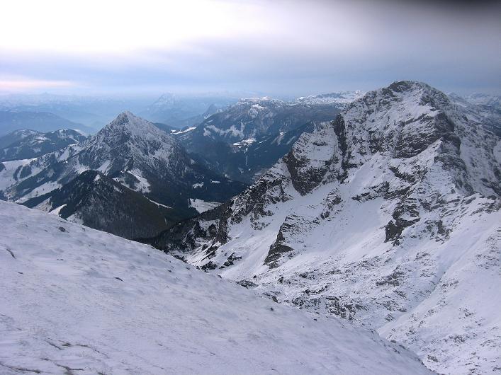Foto: Andreas Koller / Schneeschuhtour / Über den Südwestgrat auf den Scheiblingstein (2197m) / 25.10.2010 16:32:13