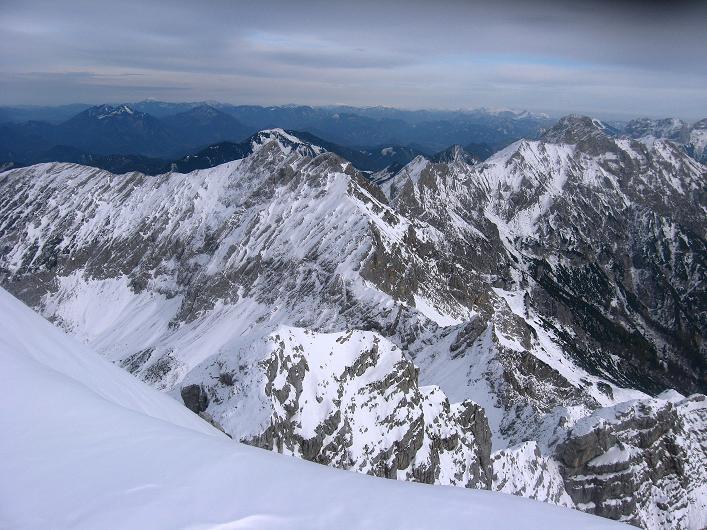 Foto: Andreas Koller / Schneeschuhtour / Über den Südwestgrat auf den Scheiblingstein (2197m) / Haller Mauern / 25.10.2010 16:31:48