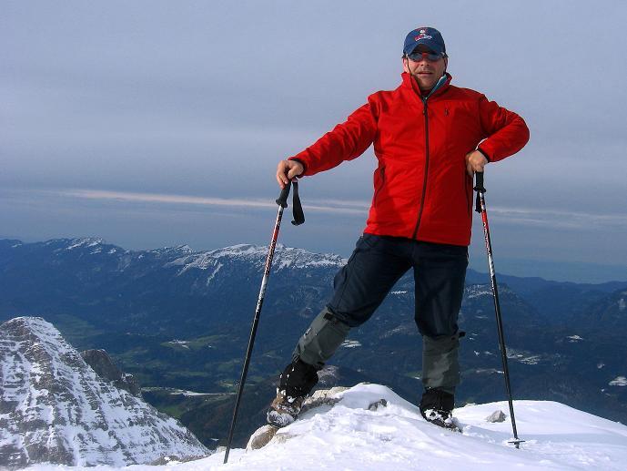 Foto: Andreas Koller / Schneeschuhtour / Über den Südwestgrat auf den Scheiblingstein (2197m) / 25.10.2010 16:30:56