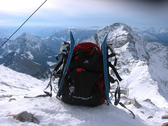 Foto: Andreas Koller / Schneeschuhtour / Über den Südwestgrat auf den Scheiblingstein (2197m) / 25.10.2010 16:30:06