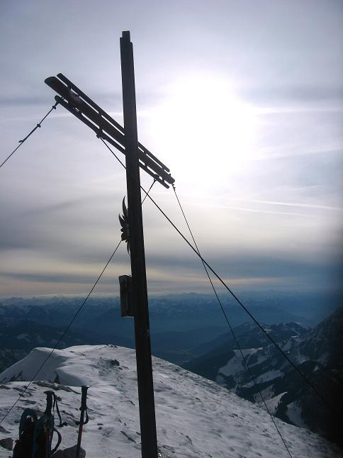 Foto: Andreas Koller / Schneeschuhtour / Über den Südwestgrat auf den Scheiblingstein (2197m) / 25.10.2010 16:29:30