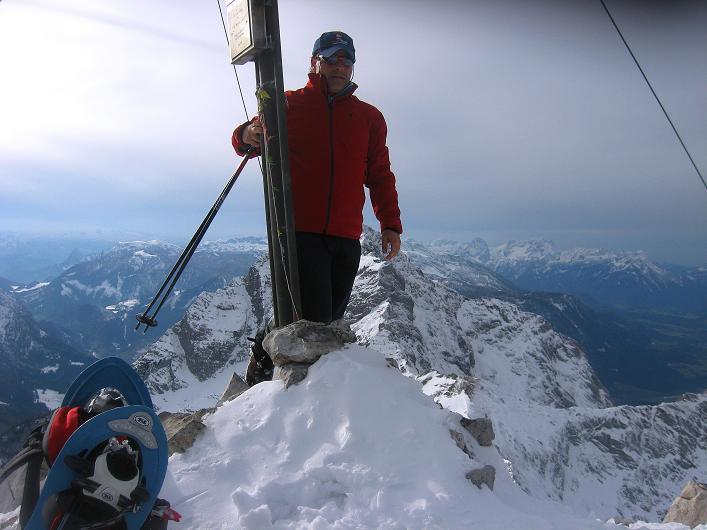 Foto: Andreas Koller / Schneeschuhtour / Über den Südwestgrat auf den Scheiblingstein (2197m) / 25.10.2010 16:29:23
