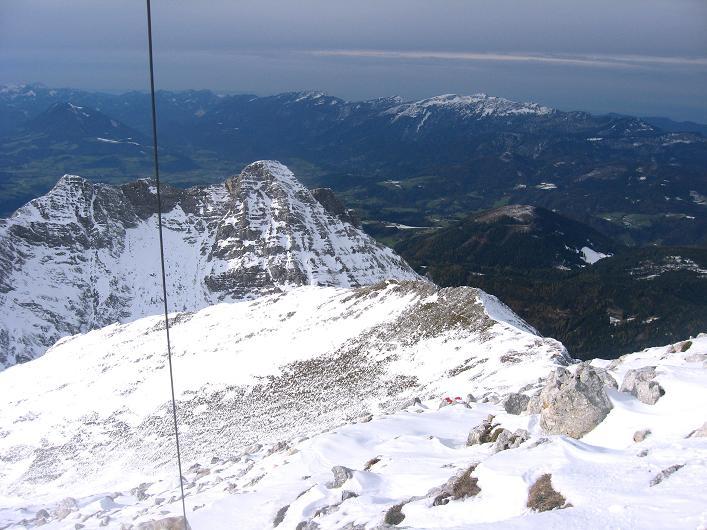 Foto: Andreas Koller / Schneeschuhtour / Über den Südwestgrat auf den Scheiblingstein (2197m) / Blick nach N / 25.10.2010 16:29:13