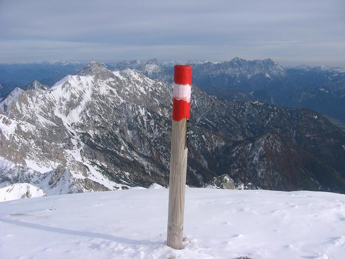 Foto: Andreas Koller / Schneeschuhtour / Über den Südwestgrat auf den Scheiblingstein (2197m) / 25.10.2010 16:28:56