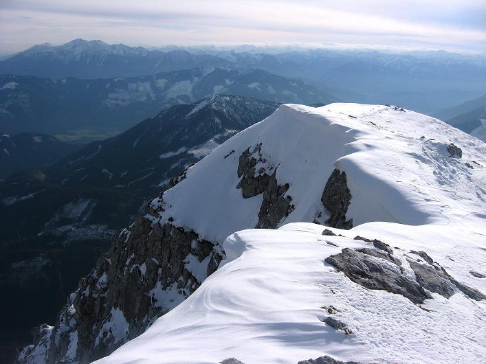 Foto: Andreas Koller / Schneeschuhtour / Über den Südwestgrat auf den Scheiblingstein (2197m) / W-Grat / 25.10.2010 16:28:47