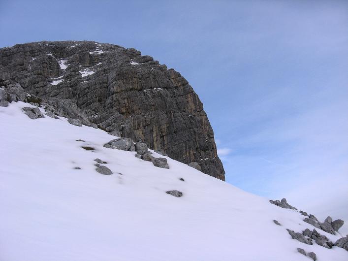 Foto: Andreas Koller / Schneeschuhtour / Über den Südwestgrat auf den Scheiblingstein (2197m) / 25.10.2010 16:07:56