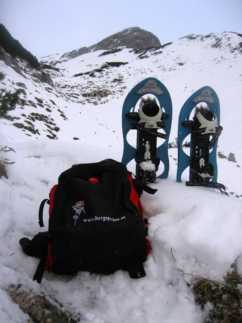 Foto: Andreas Koller / Schneeschuhtour / Über den Südwestgrat auf den Scheiblingstein (2197m) / 25.10.2010 16:07:27