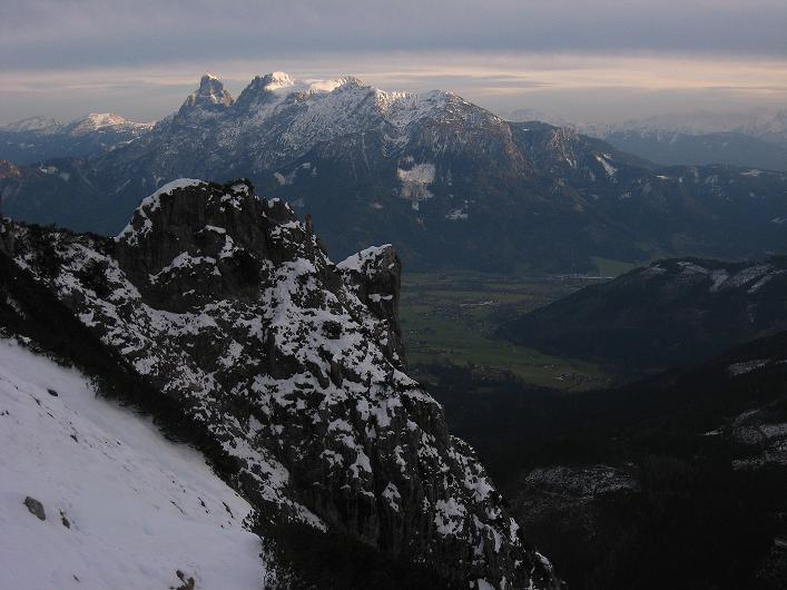 Foto: Andreas Koller / Schneeschuhtour / Über den Südwestgrat auf den Scheiblingstein (2197m) / Gesäuse / 25.10.2010 16:07:17