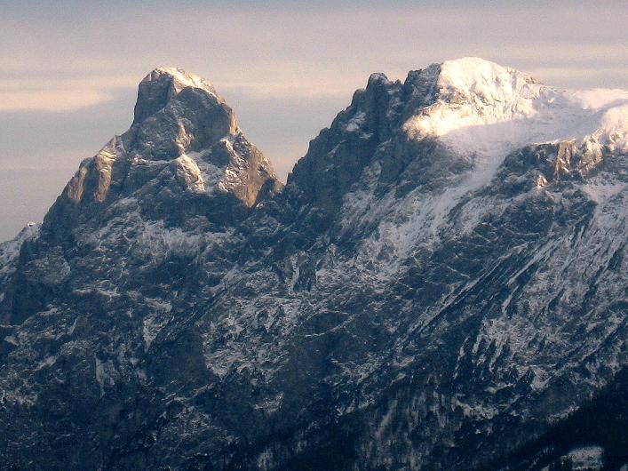 Foto: Andreas Koller / Schneeschuhtour / Über den Südwestgrat auf den Scheiblingstein (2197m) / Admonter Reichenstein (2247m) und Sparafeld (2246m) / 25.10.2010 16:07:05