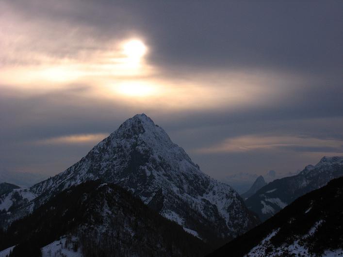 Foto: Andreas Koller / Schneeschuhtour / Über den Südwestgrat auf den Scheiblingstein (2197m) / Bosruck (1992m) / 25.10.2010 16:06:37