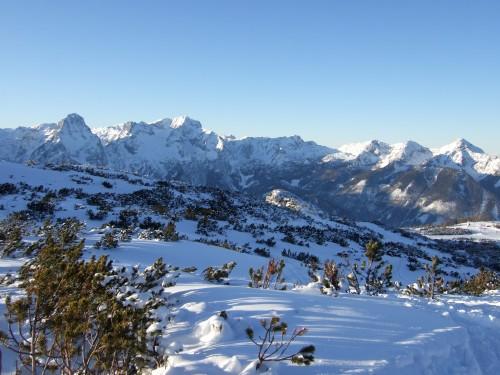 Foto: hofchri / Skitour / Schafkögel (1990 m) von Hinterstoder über Hutterer Höß / Panorama auf Höhe Hutterer Höß / 19.11.2010 20:38:33