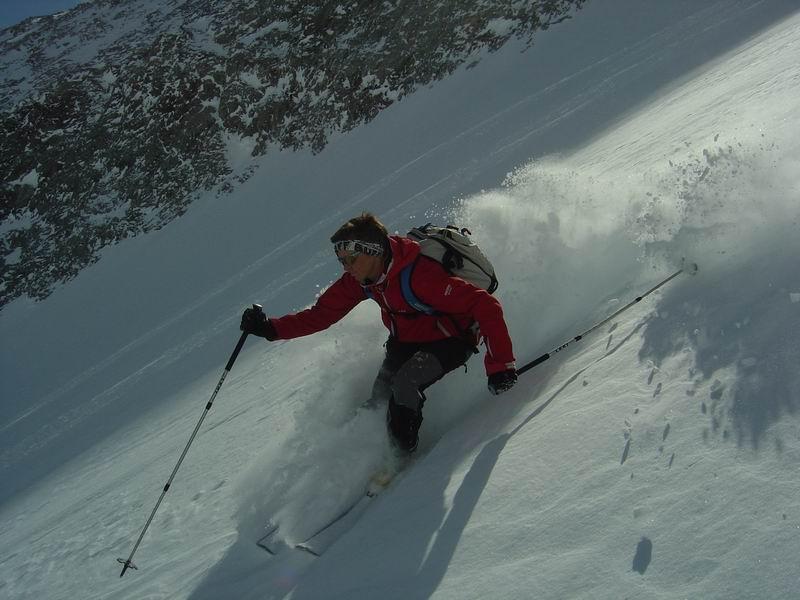 Foto: Heidi Schützinger / Skitour / Weißeck / Pulvergenuss im Ödenkar / 23.11.2010 17:58:53