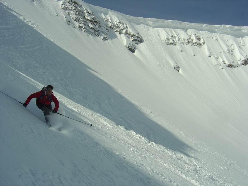 Foto: Heidi Schützinger / Skitour / Weißeck / Wunderbare einsame Abfahrt im Ödenkar / 23.11.2010 17:59:26