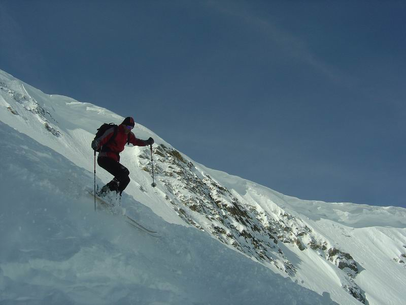 Foto: Heidi Schützinger / Skitour / Weißeck / Kurz nach der Einfahrt ins Ödenkar  / 23.11.2010 18:00:36