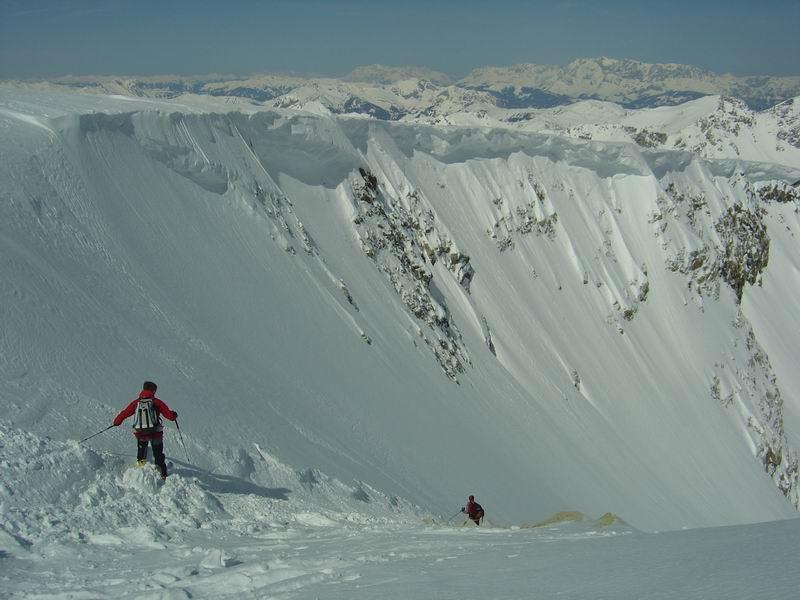 Foto: Heidi Schützinger / Skitour / Weißeck / Steiles Stück bei der Einfahrt ins Ödenkar / 23.11.2010 18:01:10