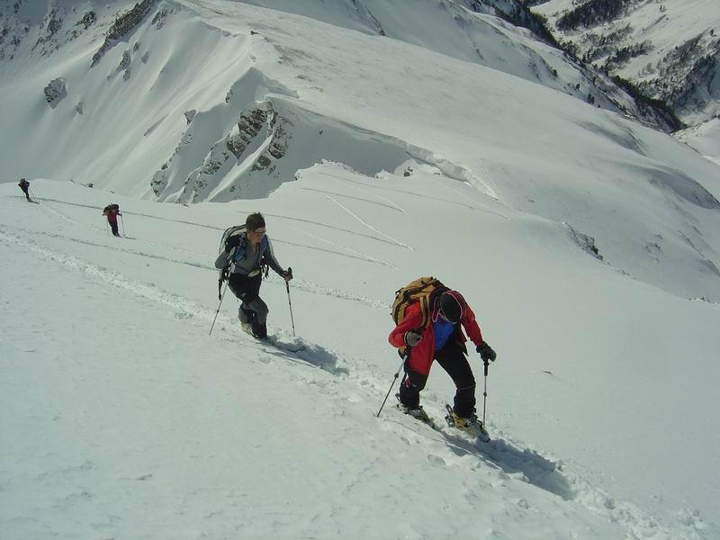 Foto: Heidi Schützinger / Skitour / Weißeck / Es ist nicht immer möglich den Gipfel auf seiner Südflanke mit Schi zu besteigen. <br>An diesem Tag waren ideale Verhältnisse für eine Schibesteigung. / 23.11.2010 18:04:33