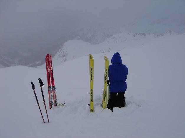 Foto: Manfred Karl / Skitour / Gebreinspitze, 2167 m / Sauwetter auf der Gebreinspitze / 08.01.2015 20:25:28
