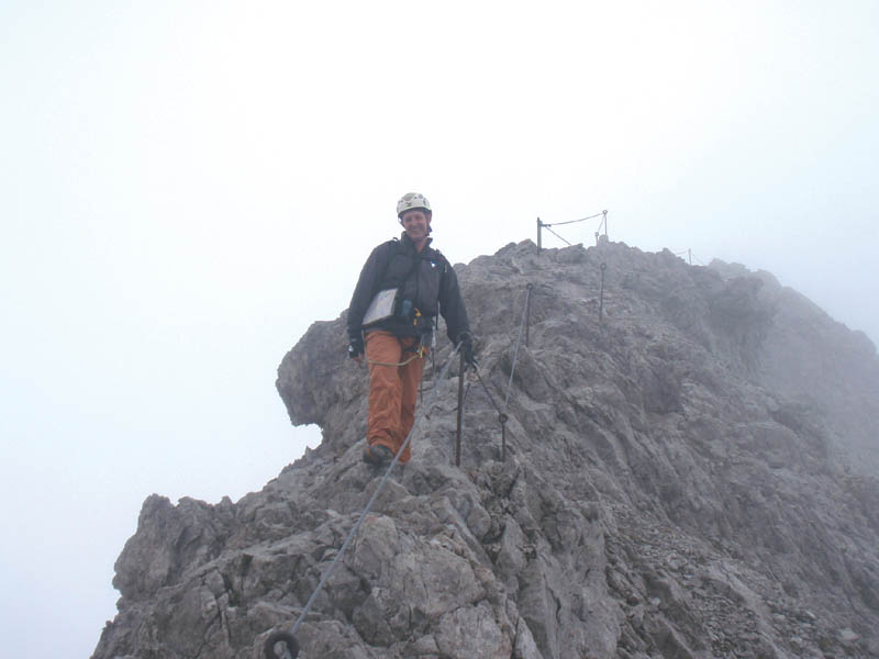 Klettersteigset Heilbronner Weg : Alpintouren klettersteig tour heilbronner weg allgäu
