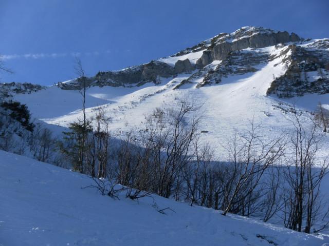 Foto: Wolfgang Lauschensky / Skitour / Gennerhorn Überquerung mit  Nordabfahrt  / Osthänge des Gennerhorns / 11.02.2011 19:13:38