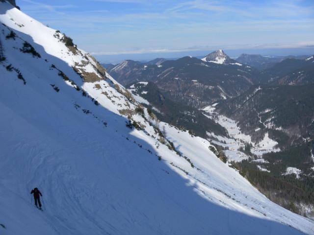 Foto: Wolfgang Lauschensky / Skitour / Gennerhorn Überquerung mit  Nordabfahrt  / Faistenauer Schafberg / 11.02.2011 19:12:38