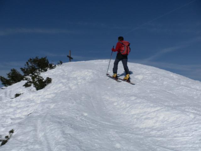 Foto: Wolfgang Lauschensky / Skitour / Gennerhorn Überquerung mit  Nordabfahrt  / Gennerhorn / 11.02.2011 19:12:05