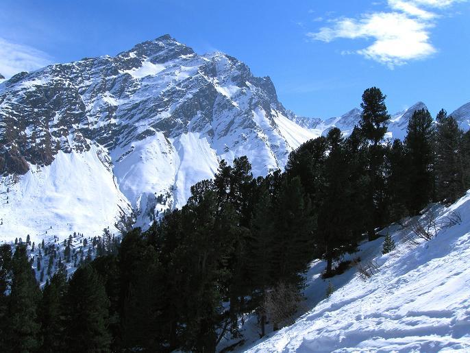 Foto: Andreas Koller / Ski Tour / Von Lüsens auf die Schöntalspitze (3008m) / 17.03.2011 20:53:21