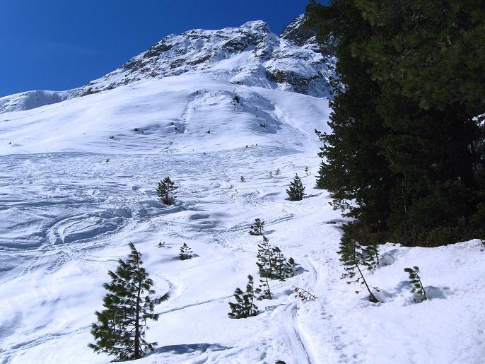 Foto: Andreas Koller / Ski Tour / Von Lüsens auf die Schöntalspitze (3008m) / Übergang ins Schöntal / 17.03.2011 20:52:47