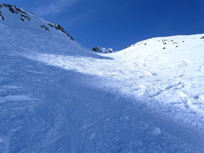 Foto: Andreas Koller / Ski Tour / Von Lüsens auf die Schöntalspitze (3008m) / Das obere Schöntal / 17.03.2011 20:47:45