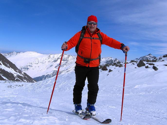 Foto: Andreas Koller / Ski Tour / Von Lüsens auf die Schöntalspitze (3008m) / Weit geht es nicht mehr mit Skiern / 17.03.2011 20:45:18