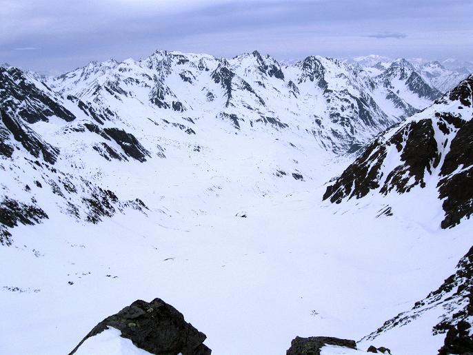 Foto: Andreas Koller / Ski Tour / Von Lüsens auf die Schöntalspitze (3008m) / Blick nach N / 17.03.2011 20:42:10