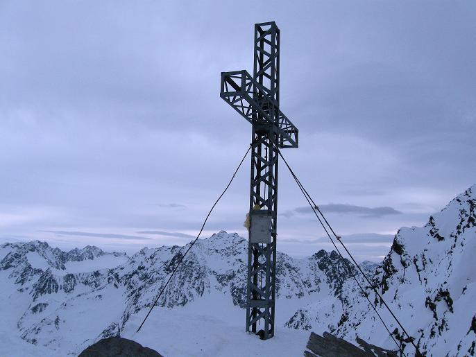 Foto: Andreas Koller / Ski Tour / Von Lüsens auf die Schöntalspitze (3008m) / 17.03.2011 20:41:48