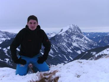 Foto: Datzberger Hans / Ski Tour / Lahnerleitenspitze und Hinkareck aus dem Radmertal / Hinkareck mit Lugauerblick. / 13.04.2011 23:09:25