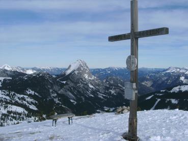 Foto: Datzberger Hans / Ski Tour / Lahnerleitenspitze und Hinkareck aus dem Radmertal / Lahnerleitenspitze. / 02.02.2014 21:28:45