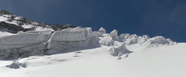 Foto: Wolfgang Lauschensky / Skitour / Glockner Umrundung / Umfahrung / Umrahmung / Serac-Zone / 13.05.2011 08:20:12