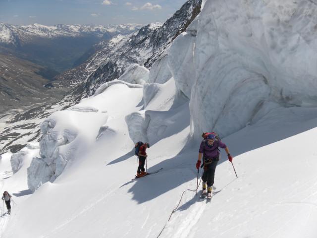 Foto: Wolfgang Lauschensky / Skitour / Glockner Umrundung / Umfahrung / Umrahmung / Westalpencharakter / 13.05.2011 08:19:54