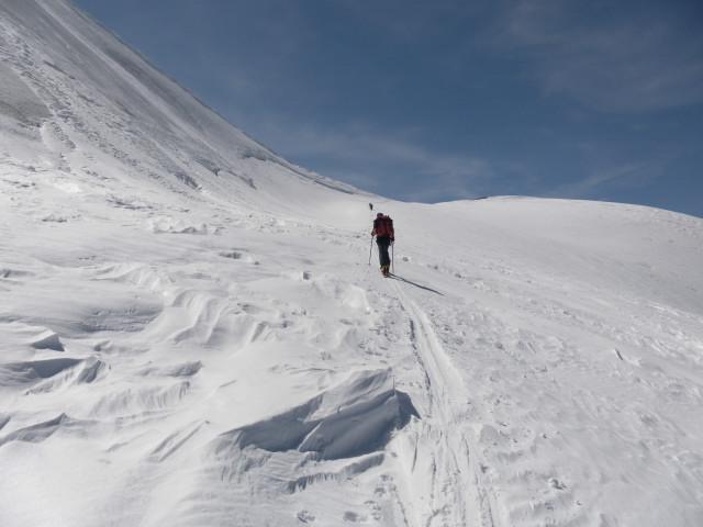 Foto: Wolfgang Lauschensky / Skitour / Glockner Umrundung / Umfahrung / Umrahmung / nahe der Romariswandscharte / 13.05.2011 08:18:38