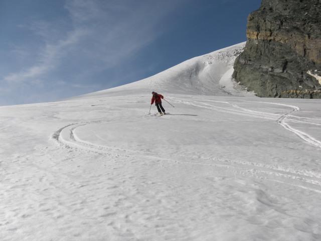 Foto: Wolfgang Lauschensky / Skitour / Glockner Umrundung / Umfahrung / Umrahmung / Übergang zum Teischnitzkees / 13.05.2011 08:18:20