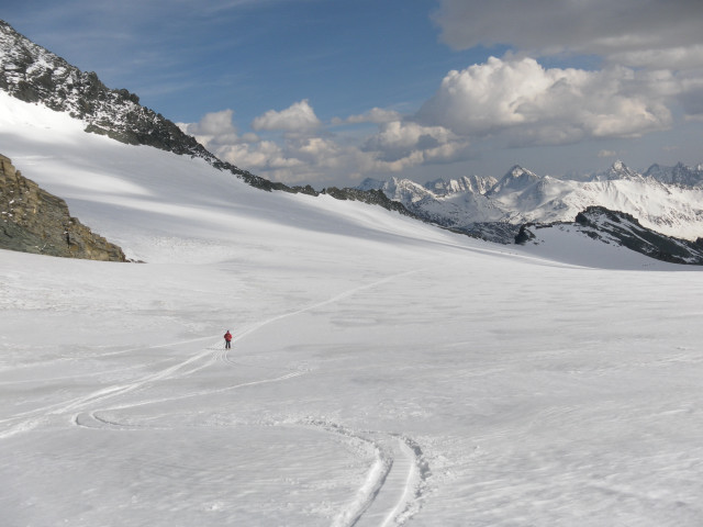 Foto: Wolfgang Lauschensky / Skitour / Glockner Umrundung / Umfahrung / Umrahmung / Teischnitzkees / 13.05.2011 08:18:11