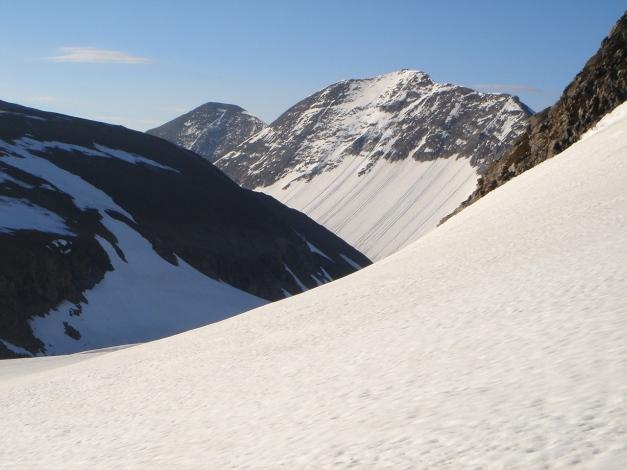 Foto: Manfred Karl / Skitour / Bärenkopf Runde / Querung zur Nordflanke des Eiswandbichls / 21.05.2011 23:43:13