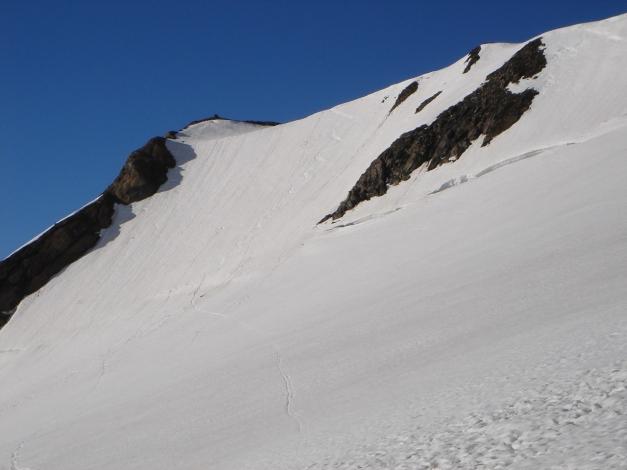 Foto: Manfred Karl / Skitour / Bärenkopf Runde / Die kurze Nordflanke auf den Eiswandbichl - Anfänger-