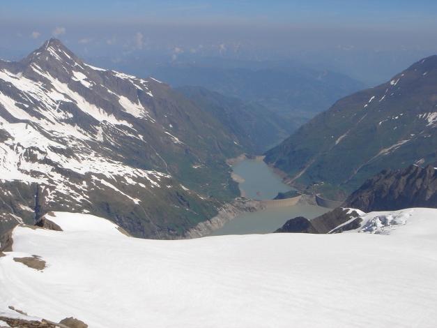 Foto: Manfred Karl / Skitour / Bärenkopf Runde / Stauseen Mooserboden und Wasserfallboden / 21.05.2011 23:29:30
