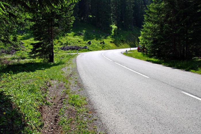 Foto: vince 51 / Wander Tour / durchs Rotlechtal auf den Loreakopf / Anfahrt aus Richtung Berwang / 08.06.2011 23:12:54