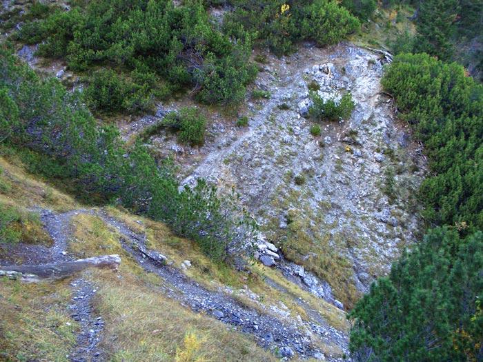Foto: vince 51 / Wander Tour / durchs Rotlechtal auf den Loreakopf / Der zu überschreitende Tobel / 08.06.2011 23:06:08