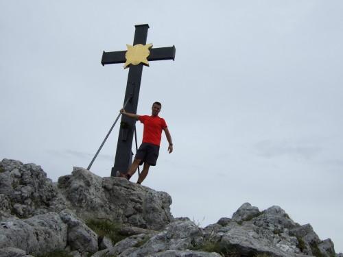 Foto: hofchri / Wandertour / Hochstaufen (1771 m) über Steinerne Jäger (I+) / Gipfelglück / 09.06.2011 21:45:09